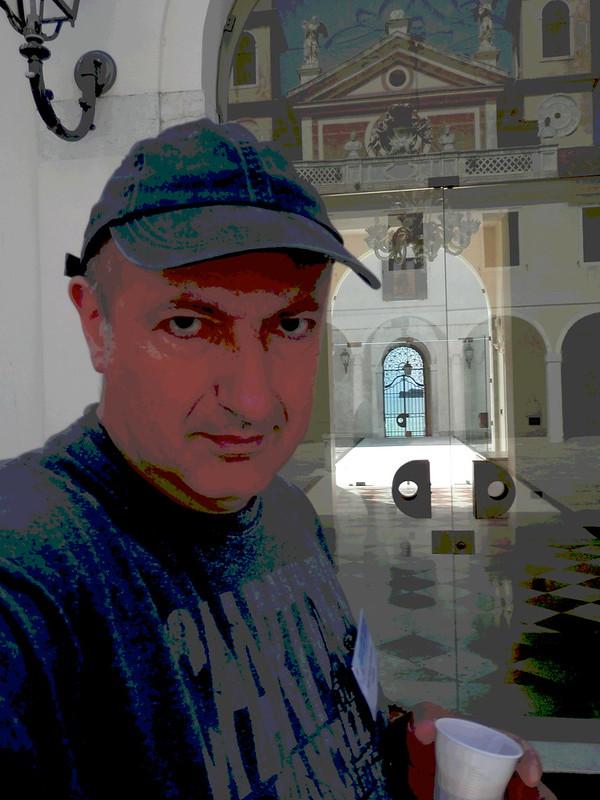 Yo en el manicomio de San Servolo