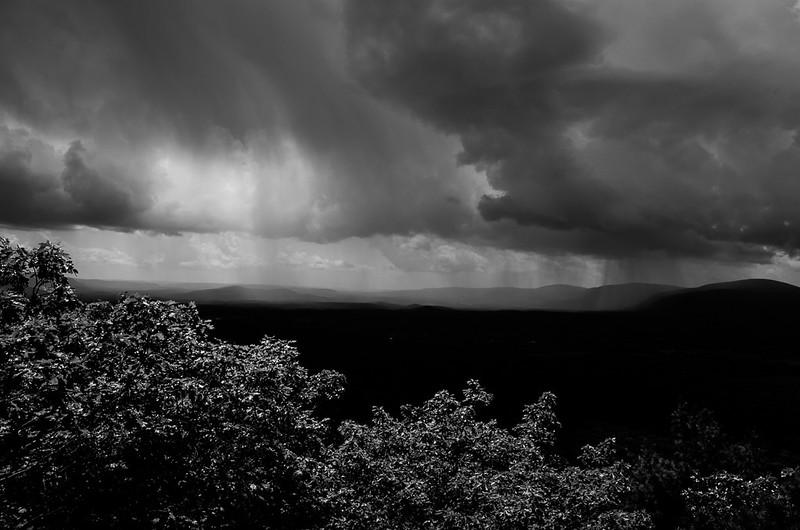 Storm over Mt. Race