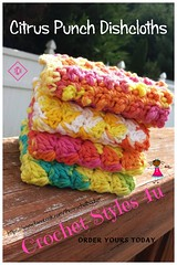 Citrus Punch Dishcloths