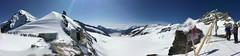 Panorama from Jungfrau