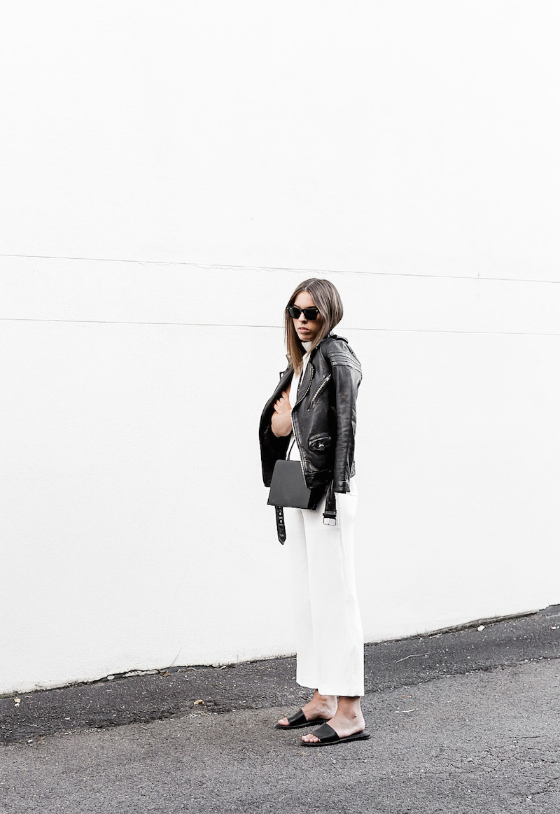 modern-legacy-BLK-DNM-leather-jacket-8-white-culottes-street-style-blog-slide-sandals-Camilla-and-Marc-Assent-top-Alexander-Wang-sling-bag-black (4 of 4)