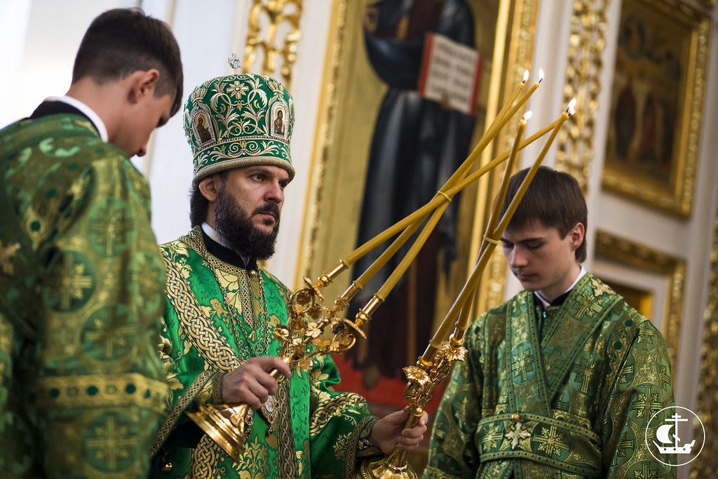 30 августа 2014, Божественная литургия в Софийском соборе / 30 August 2014, Divine Liturgy at the Cathedral of St. Sophia