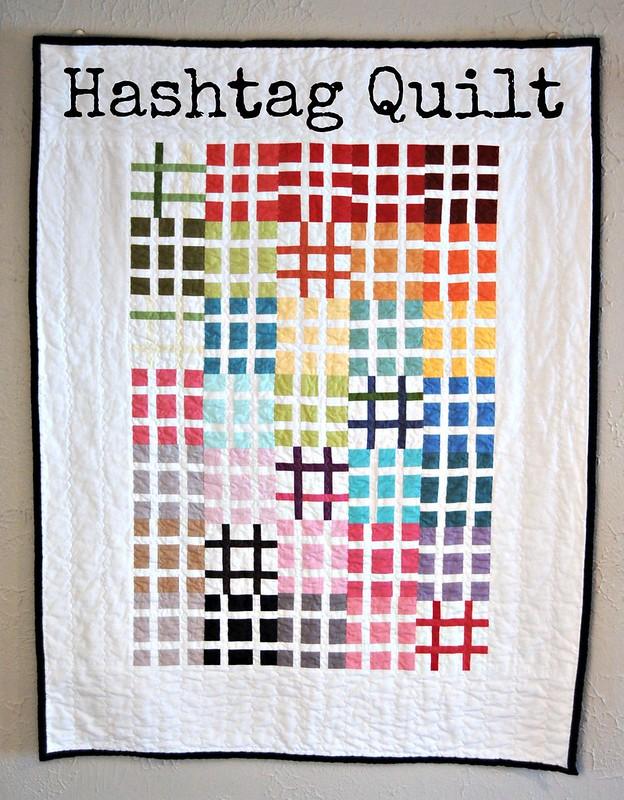 Hashtag Quilt Title