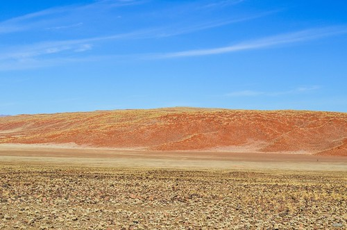 Red dunes near the Namib