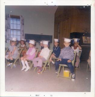 Kindergarten Graduation 1973