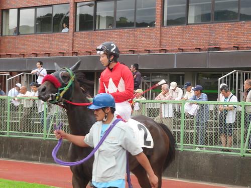 佐賀競馬場の田中純騎手