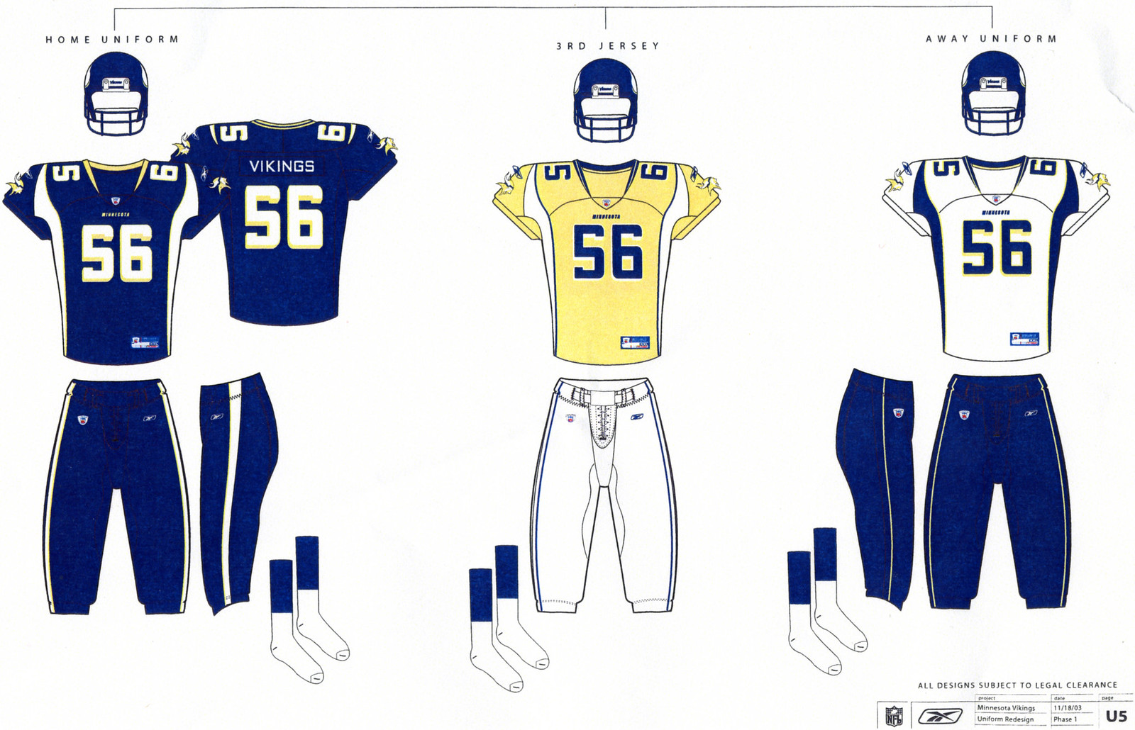 44508fc4 Minnesota Vikings rejected these uniform designs -- Uni Watch