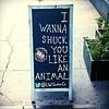 You better get me drunk first! #pun #NIN #oysters #LAndWOyster @LWOysterCo #Midtown #Manhattan #NYC