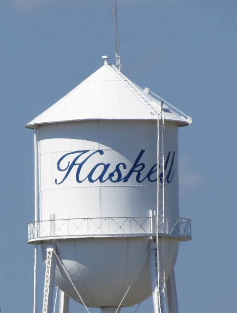 Haskell Water Tower 1 - second shot
