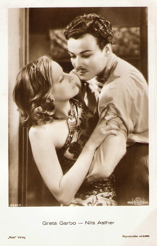 Greta Garbo, Nils Asther in Wild Orchids