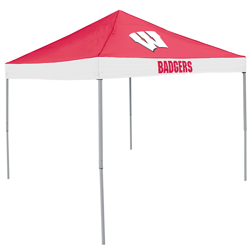 Wisconsin Badgers Economy TailGate Canopy/Tent  sc 1 st  Tailgatorz & Wisconsin Badgers Tailgate Canopy/Tent Easy Up Shelter Design for ...