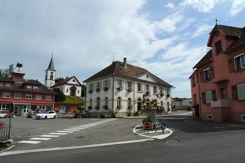 Seppois-le-Bas, Haut-Rhin, Alsace, France