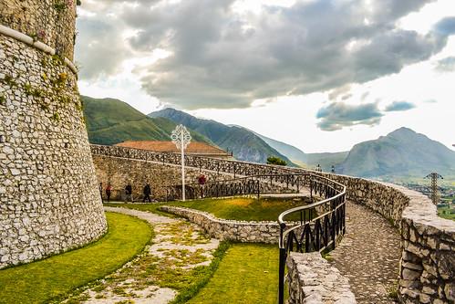 italy castle campania village centre centro medieval historic castello salerno storico teggiano macchiaroli