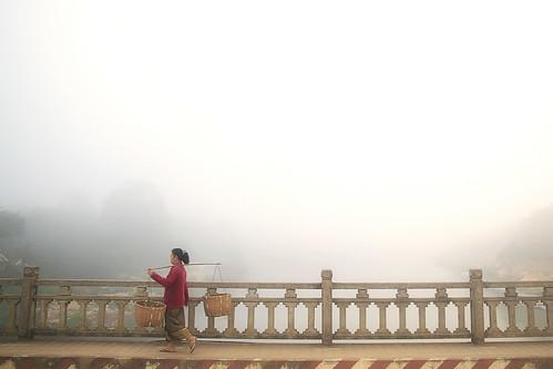 """Laos from the book """"Un indovino mi disse"""" by Tiziano Terzani"""