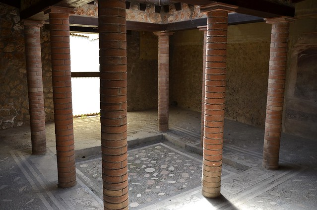 Small Atrium in the House of Menander, Pompeii