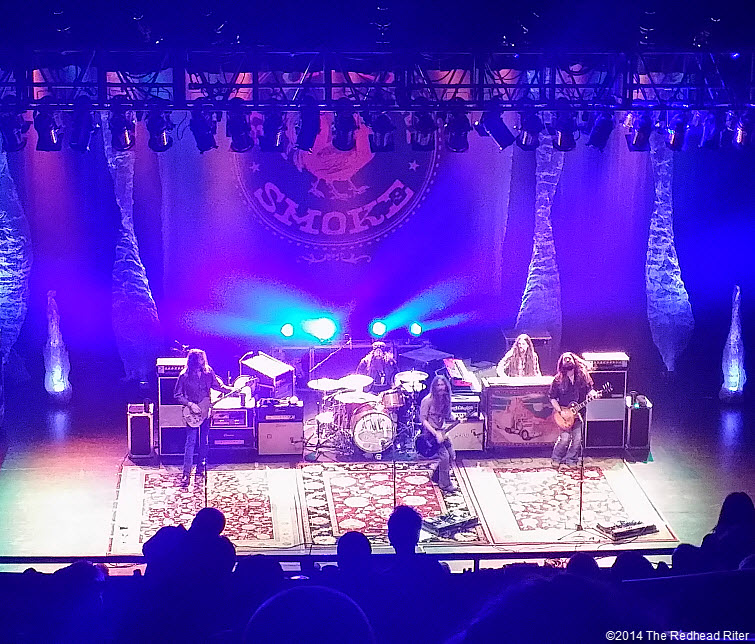 Blackberry Smoke Southern Rock Concert, Richmond, Virginia 20140115_224811