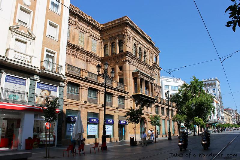 SEVILLA - Avenida de la Constitución