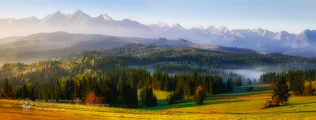 the Tatra Mountains