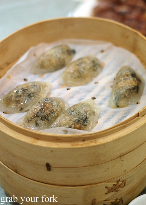 Teochew dumplings at Asiania Retaurant, Wan Chai, Hong Kong