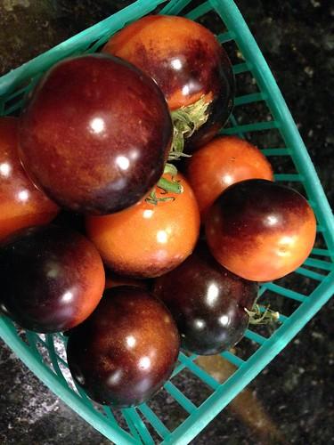 IMG_4133 Heirloom cherry tomatoes