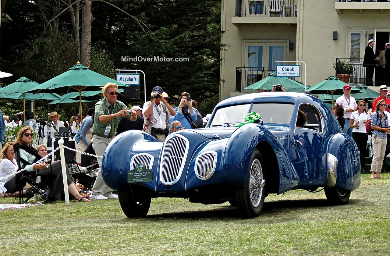 Pebble Beach 2014 Talbot Lago T150C SS