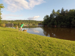 First Fishing Trip EVER, Blackstone River, NY
