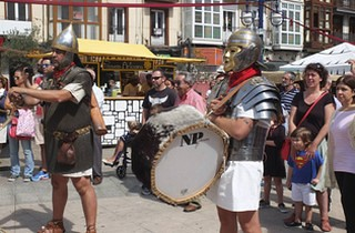 Los romanos llegan a Santander