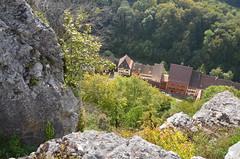 Ferrette.Vue depuis le château de Ferrette.4