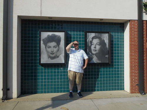 Me and the Ava Gardner Museum