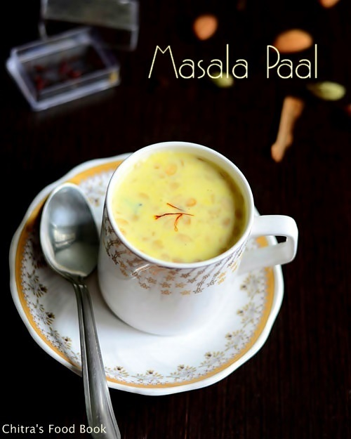 Masala paal recipe