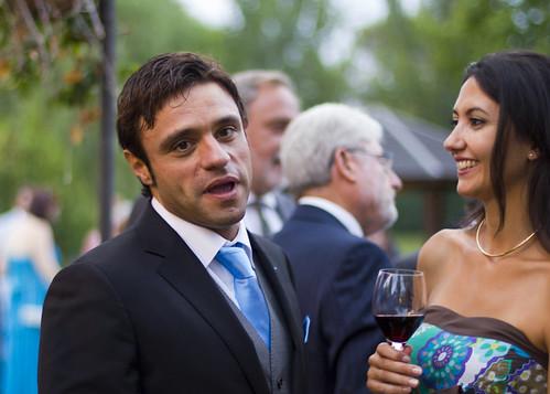 Alberto en la fiesta