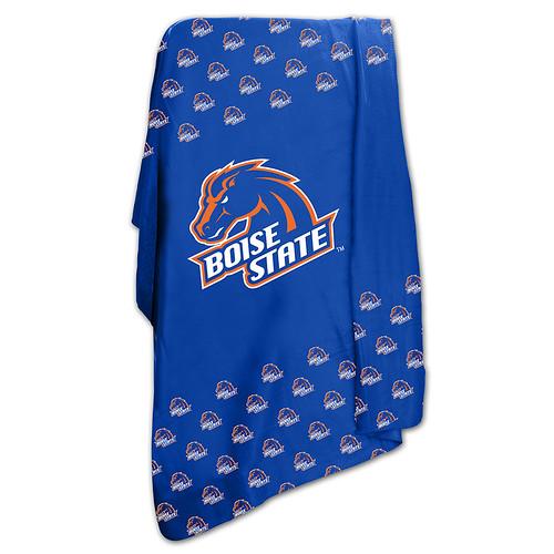 Boise State Broncos NCAA Classic Fleece Throw