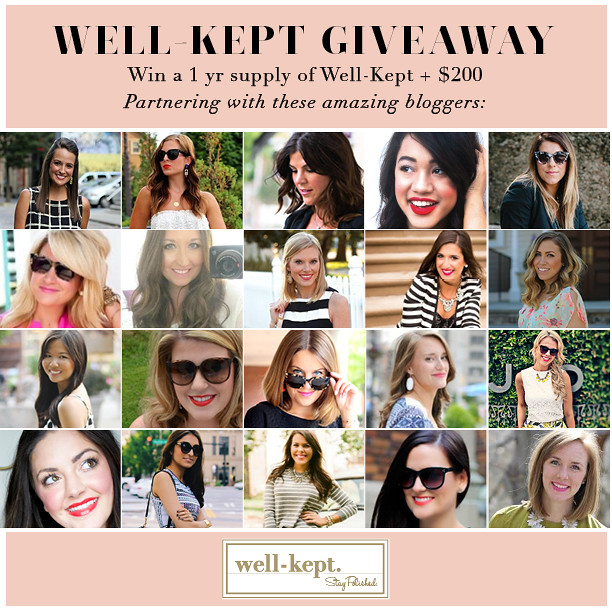 What's in my Bag? | Well Kept #Giveaway | #LivingAfterMidnite