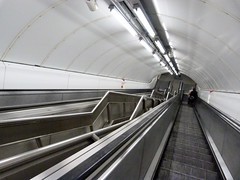 subway, vehicle, escalator, infrastructure, tunnel,