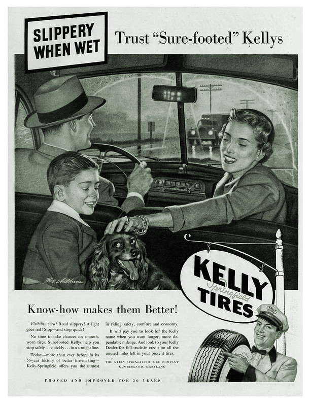 Kelly-Springfiled Tires - 1950