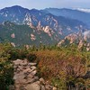Hiking Seoraksan National Park.