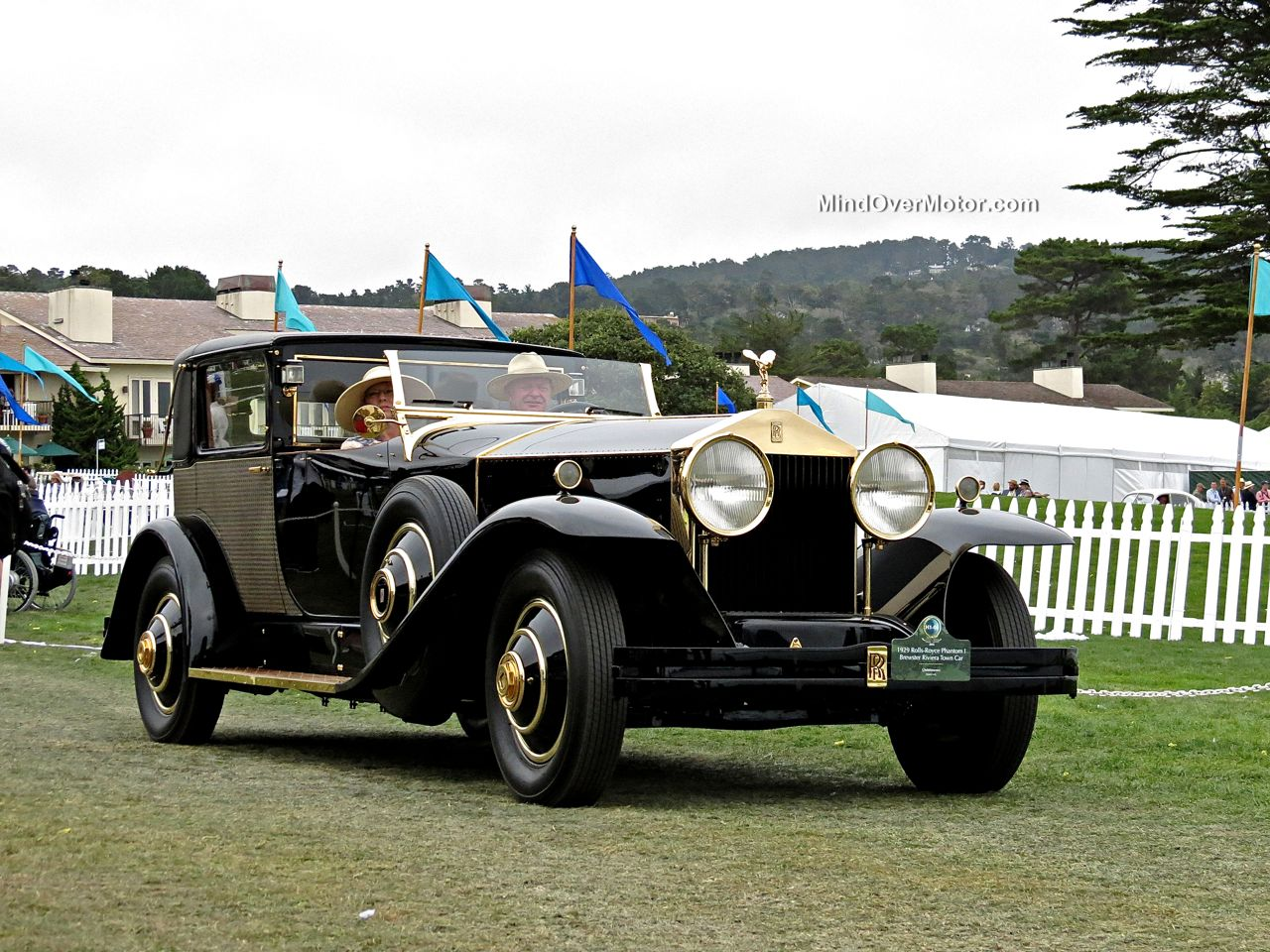 Pebble Beach 2014 Rolls Royce Phantom I Brewster Riviera