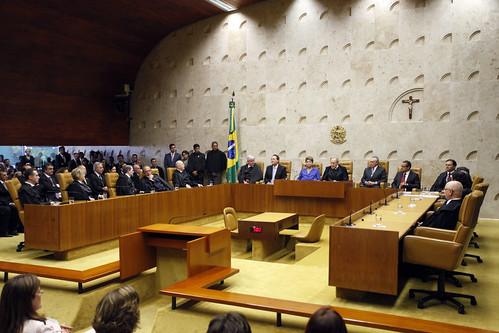 Discursos de saudação ao novo presidente do CNJ e do STF ressaltam a harmonia entre os poderes