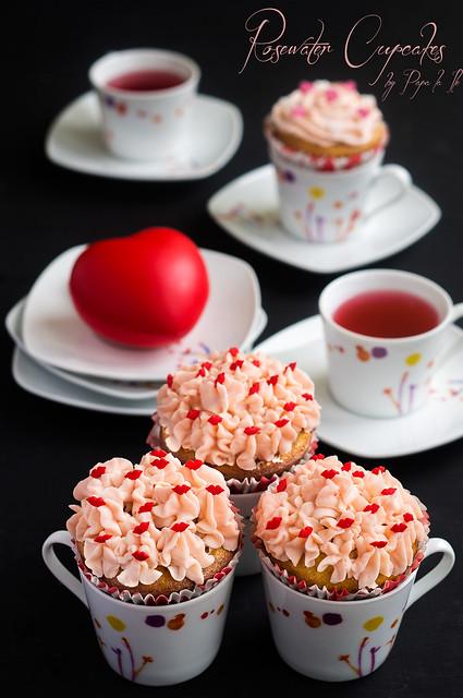 Rosewater Cupcakes (6)