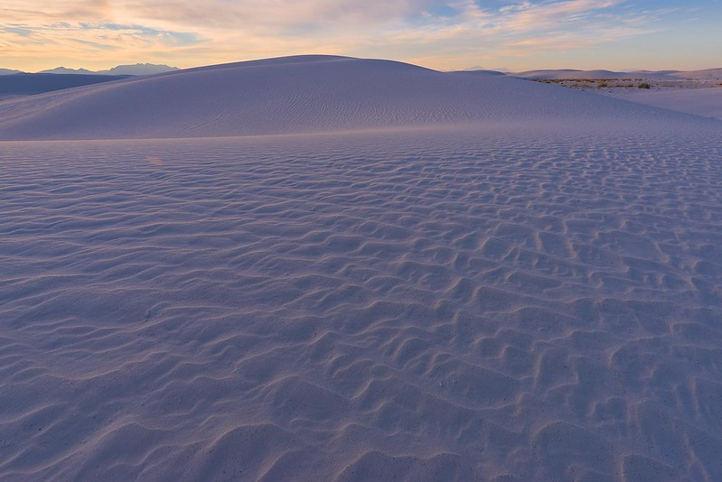 Waves - White Sands National Monument