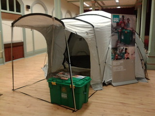 ShelterBox at Rotary District 1270 Conference 2014. The Spa Scarborough Yorkshire