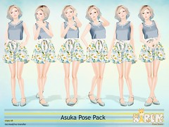 Asuka Pose Pack Soon @ Kustom9