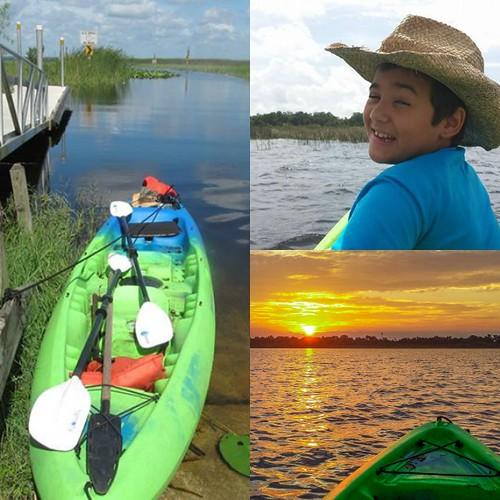 kayak Collage