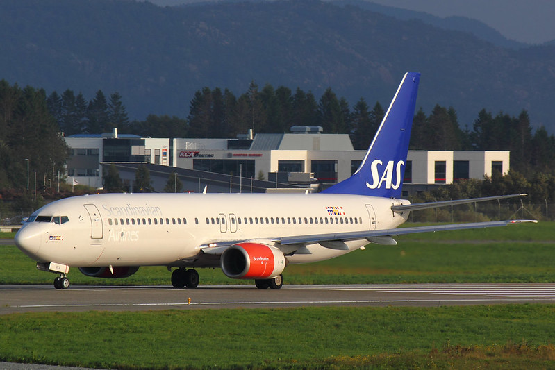 SAS - B738 - LN-RCN (1)