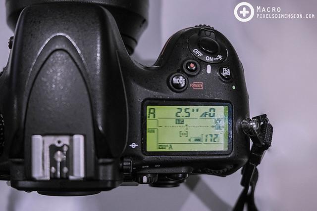 A Nikon DSLR losing aperture control
