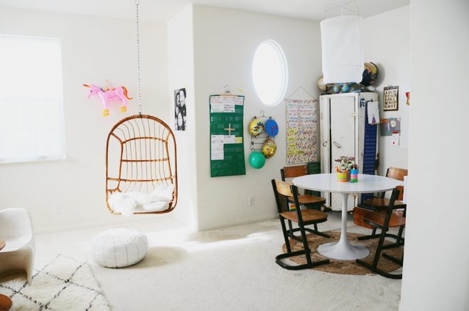 homeschooling space