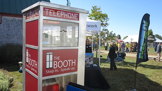 TheBooth at the Common Ground Fair 2014