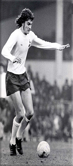 picture of Glenn Hoddle Spurs 1975 to 1987