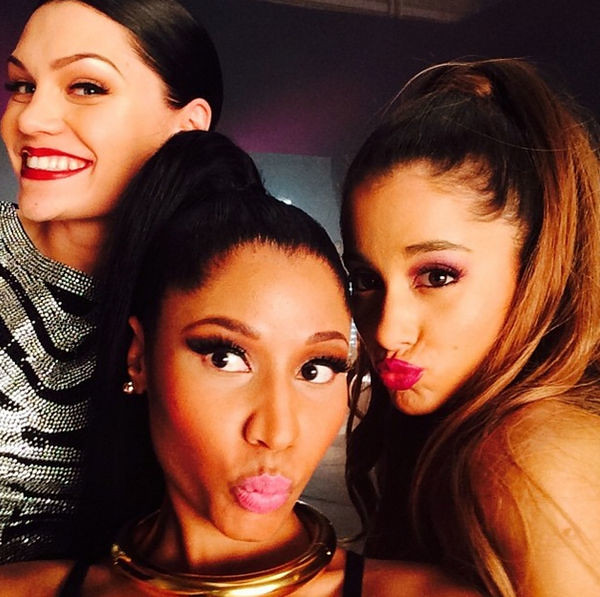 News: Nicki Minaj, Ariana Grande and Jessie J Score UK No.1 With  Bang Bang