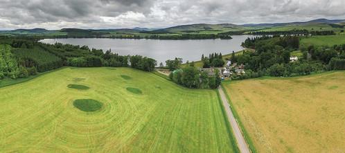 sky lake scotland landscapes flying fishing perthshire f pro phantom lochs lintrathen